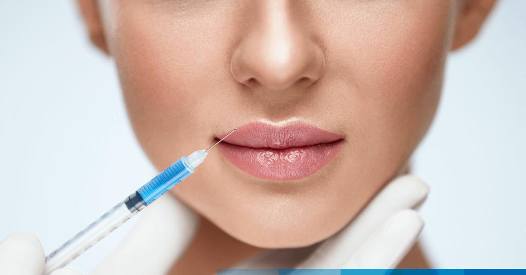 Tratamiento de labios con AH vs tratamiento de la región peribucal